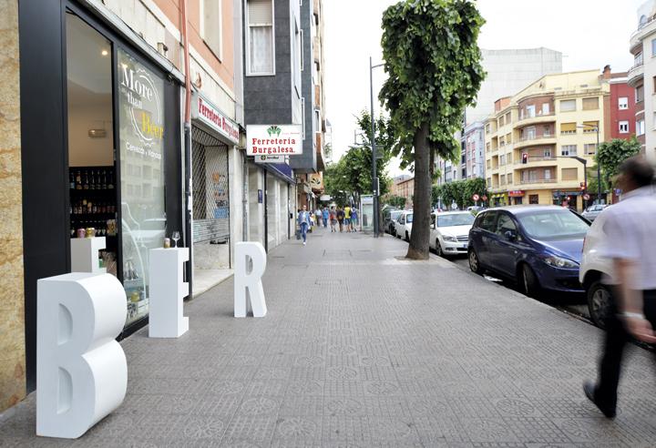Decoración de tiendas en Burgos