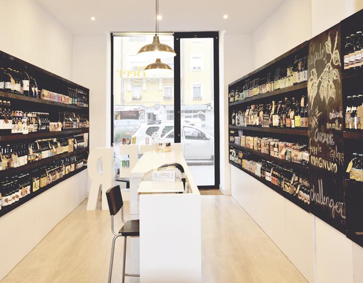 Diseño de interior de tienda en Burgos